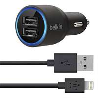 2xUSB Apple iPhone 5/5S/5C 20W (5V 4.2A) Belkin