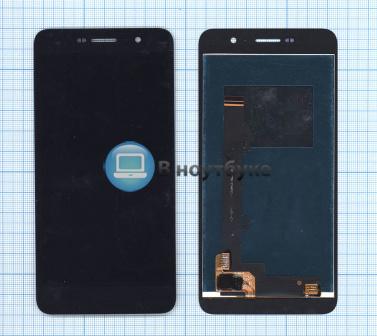 Модуль (матрица + тачскрин) для Huawei Honor 4C Pro (D2TIT-L01) черный - купить по оптовой цене в интернет-магазине vnoutbuke.ru