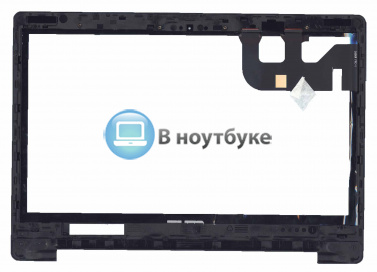 Сенсорное стекло (тачскрин) для Asus Transformer Book Flip TP300 черное с рамкой - купить по оптовой цене в интернет-магазине vnoutbuke.ru