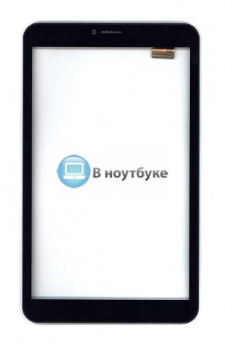 Сенсорное стекло (тачскрин) для Irbis TZ855 черное с рамкой - купить по оптовой цене в интернет-магазине vnoutbuke.ru
